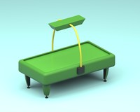 airhockey table 3d model