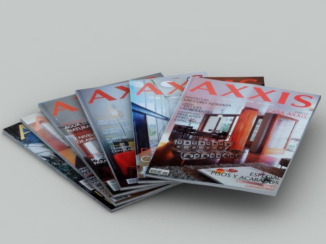 magazines 1: interior design 3d max