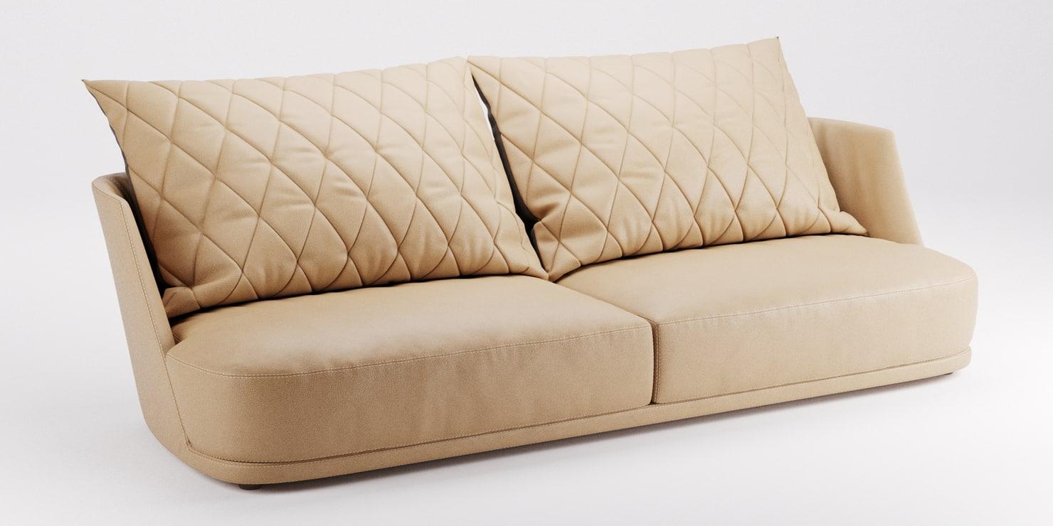 alberta grace sofa 3d model