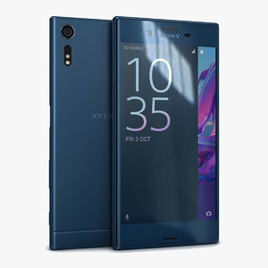 3d model sony xperia xz forest