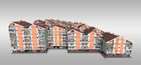 residential suburban 3d model