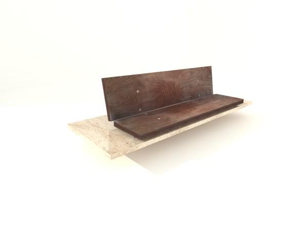 city bench x
