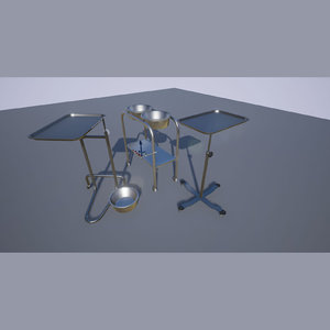 3d model of stands unreal