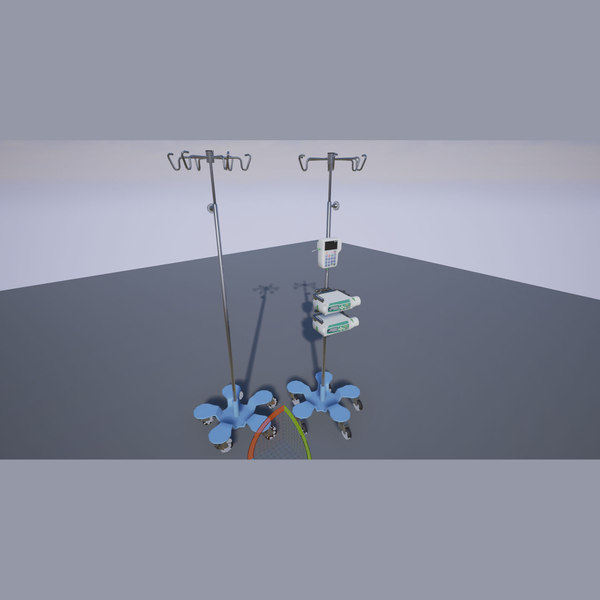 3d iv stand model