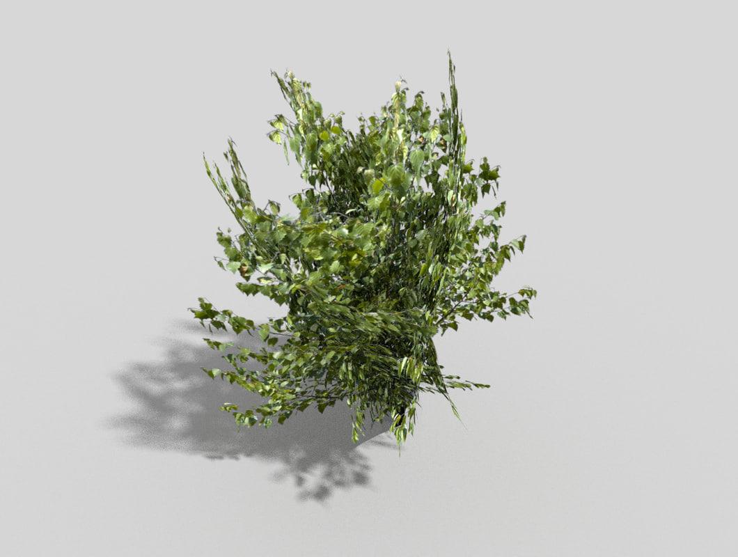 games tree 3d model