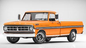 obj f100 1971 pickup