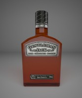max gentleman jack whiskey bottle
