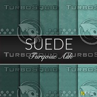 Turqoise Suede Seamless Tileable Fabric Textures