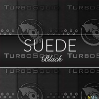 Black Suede Seamless Tileable Fabric Textures