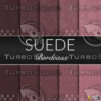 Bordeaux Suede Seamless Tileable Fabric Textures