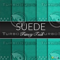 Teal Suede Seamless Tileable Fabric Textures
