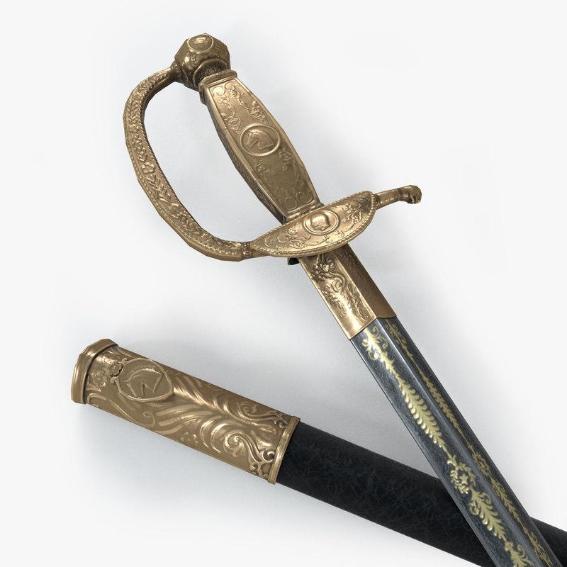 sword napoleon austerlitz c4d