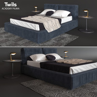 Bed Twils ACADEMY PIUMA