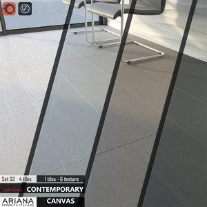max tile ariana canvas set