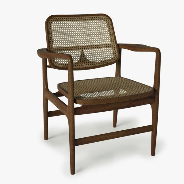 3d model sergio chair
