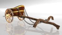 3d chariot fantasy