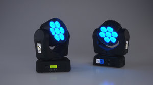 3d model stage light led