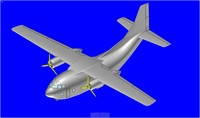 3ds c-123 transport aircraft solid