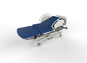 3d hospital beds model
