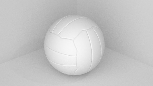 volley ball 3d blend
