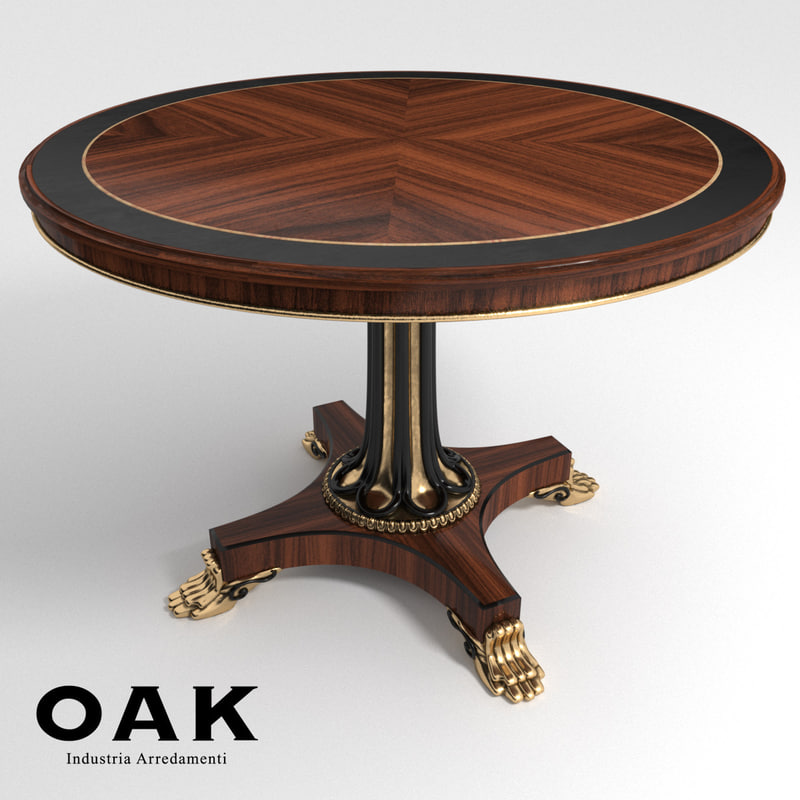 max oak arredamenti table