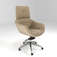 3d elle chair bentley model
