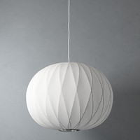 criss cross ball lamp