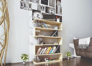 - books 3d model