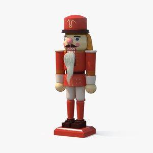 3d model nutcracker-soldier---ip
