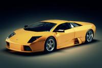 3d sport car lamborghini murcielago model