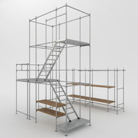Scaffold tower system