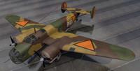 3d plane t v bomber
