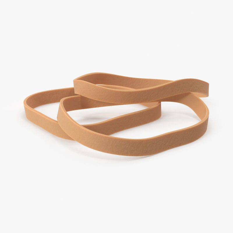 rubber bands 3d model