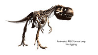 3d animation walk cycle t rex model