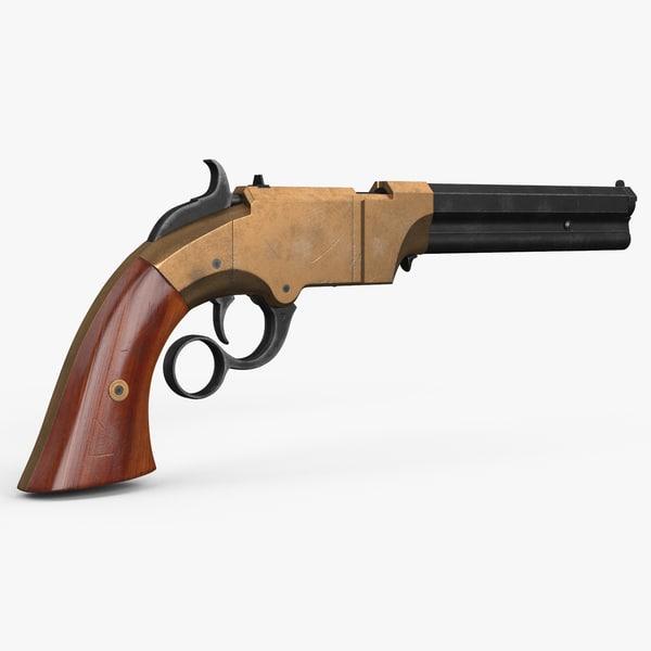 3d repeating pistol