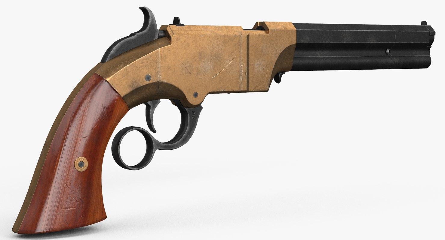 3d repeating pistol