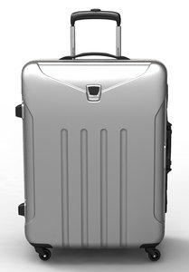 trolley frame suitcase 3d model