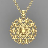 Necklace pendant-73