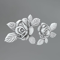 carved flower decor 20