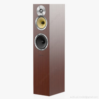 floorstanding bowers wilkins cm 3d model