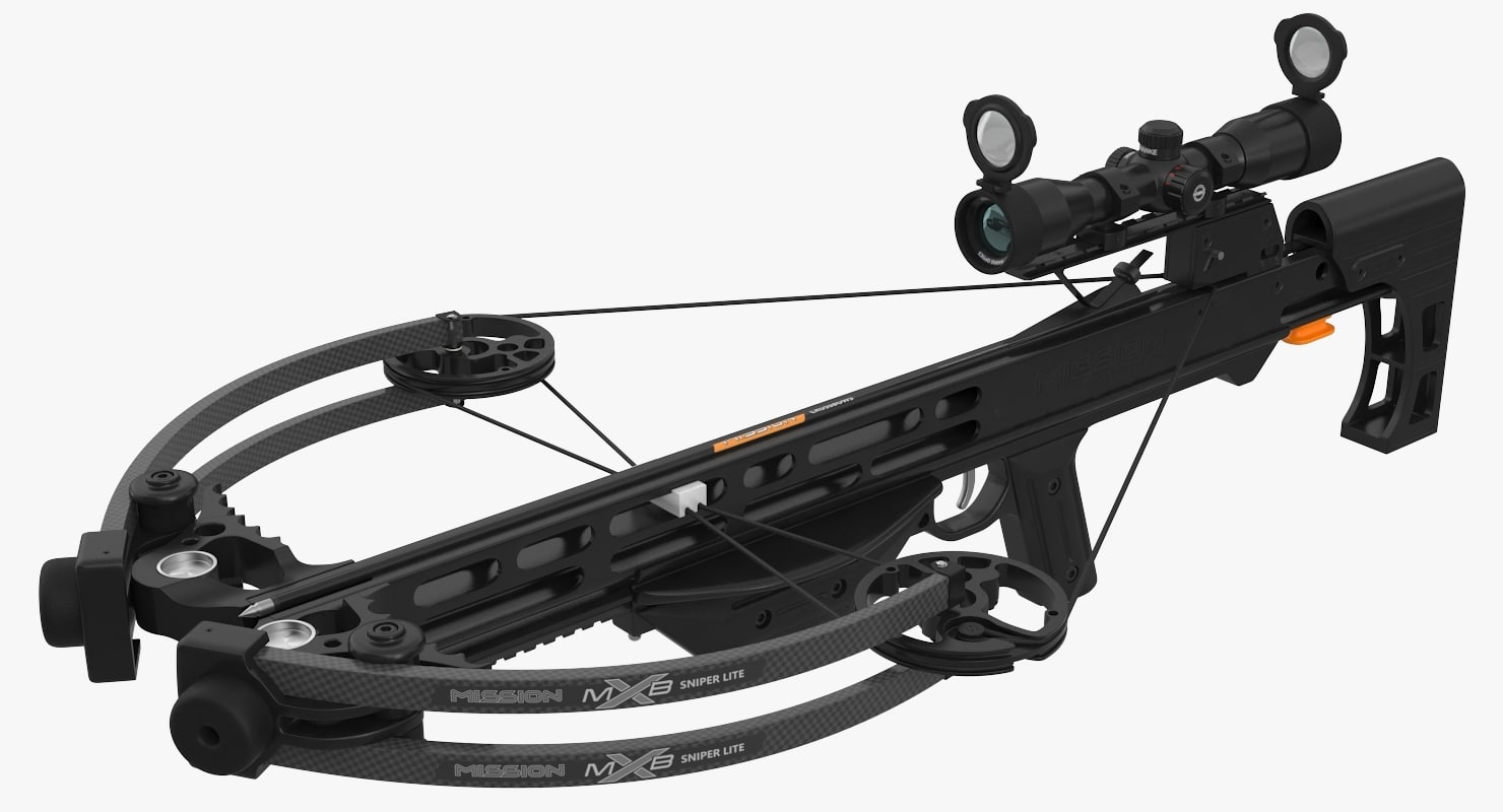 3d model of mission archery mxb-400