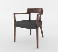 laine dining chair 3d 3ds