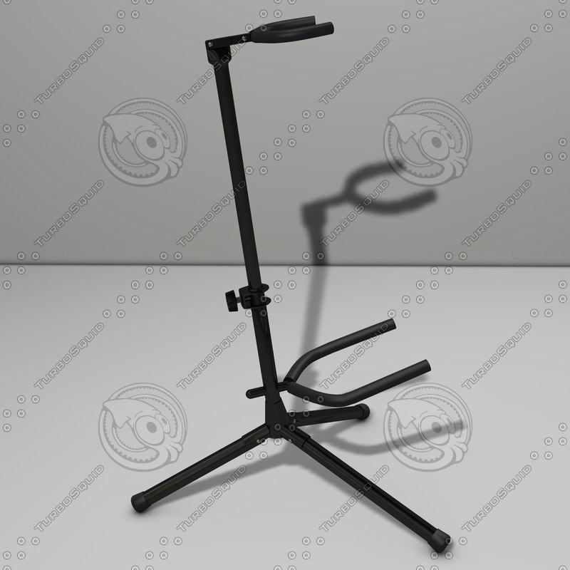 guitar stand 3d model