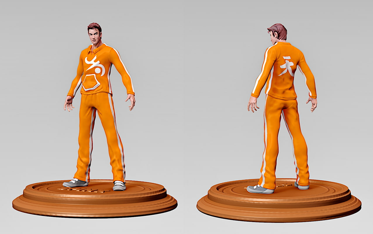 man figure 3d model