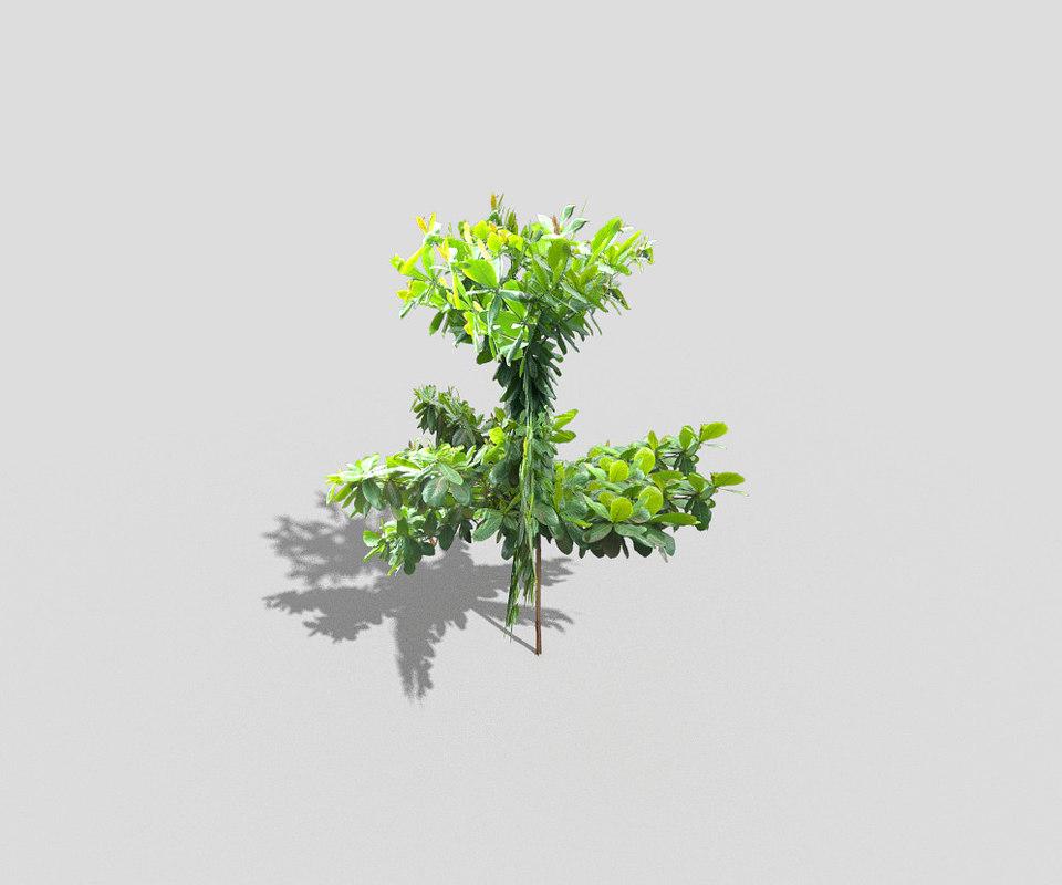 3d games tree model