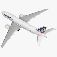 boeing 777-200 air france 3d max