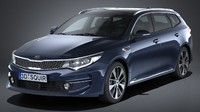 3d model kia optima sportswagon
