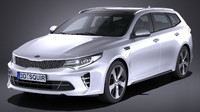 3d kia optima sportswagon