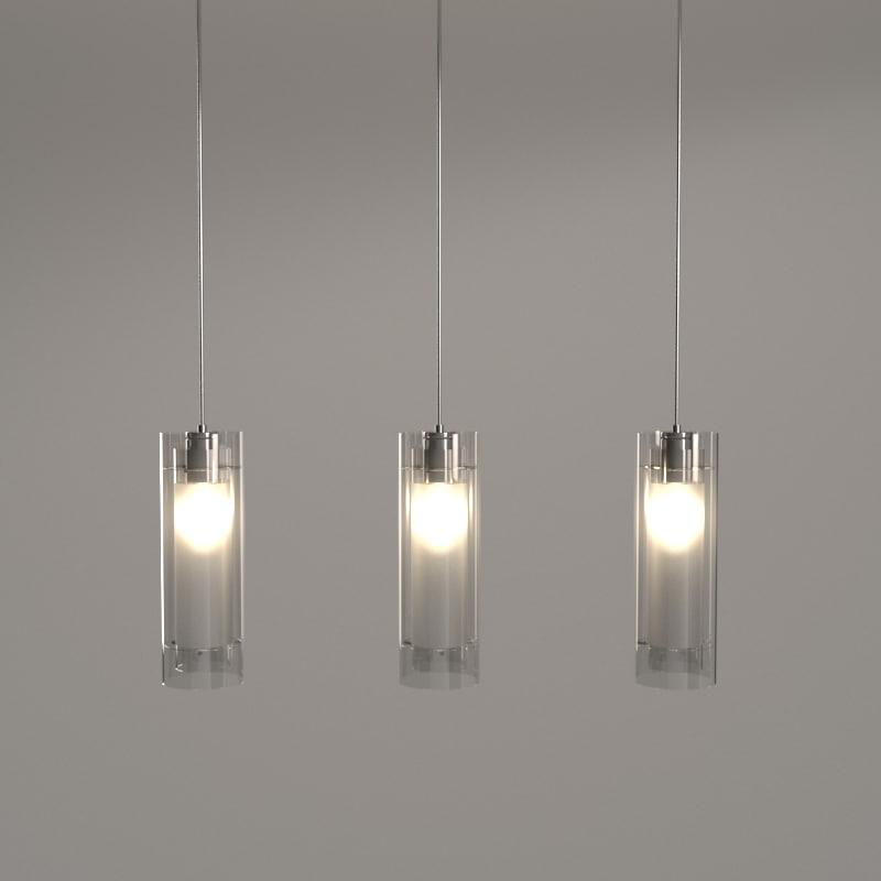 pendant light chromed max