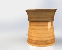 3d solidworks cup cap